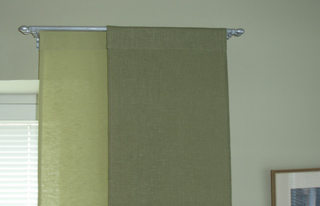 Curtain rods for window