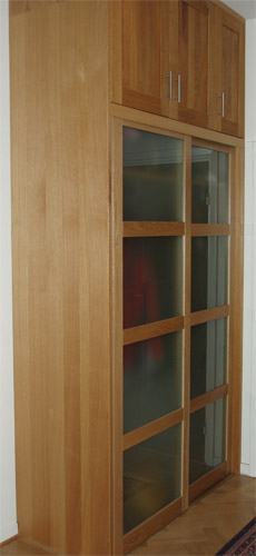 Hall Wardrobe From Side